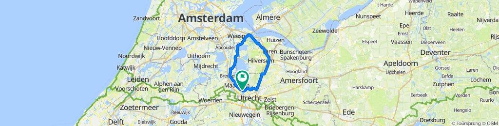 Vecht - Bussum - groen 65km