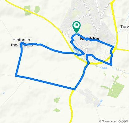 Moderate route in Brackley