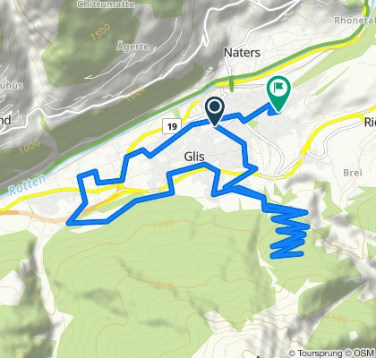 Moderate Route in Brig