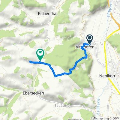 Entspannende Route in RichenthalErstes