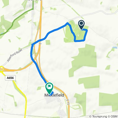 Sporty route in Leeds