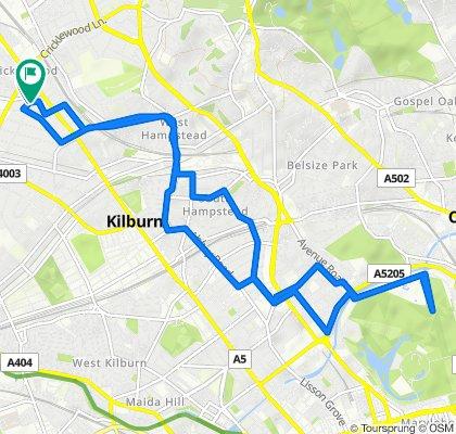 31 Keyes Road, London to 28 Keyes Road, London