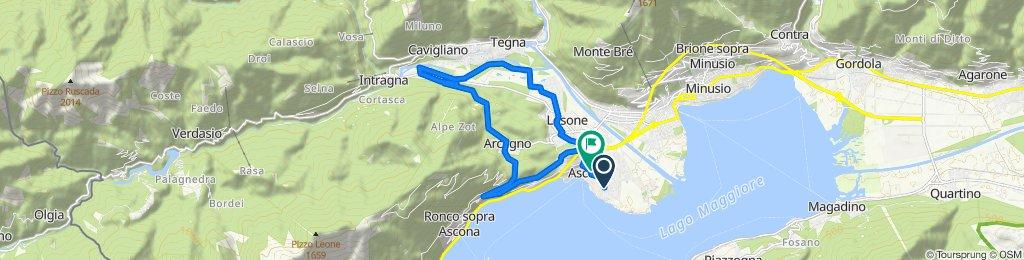 Gemütliche Route in Ascona