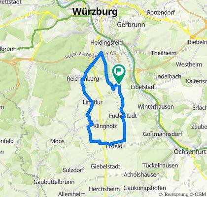 Rottenbauer-Eßfeld-Reichenberg-Rottenbauer