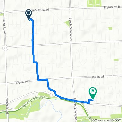 Easy ride in Dearborn Heights