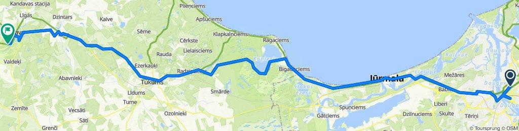 Baltikum-Belarus 04/17: Riga - Kandava