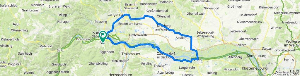 Palt-Tulln-Gössing-Krems 100km