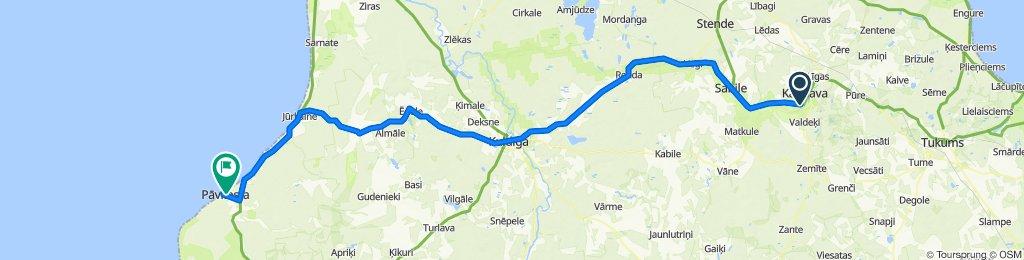 Baltikum-Belarus 05/17: Kandava - Pāvilosta