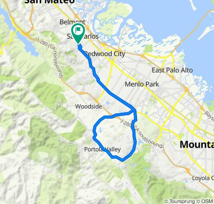 Blistering ride in San Carlos