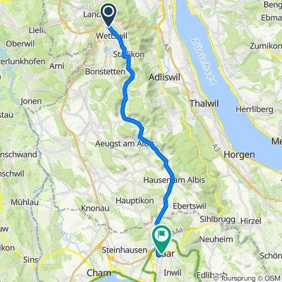 Route von ¿ˇwÁ?