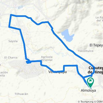 Ruta relajada en Cuautepec de Hinojosa