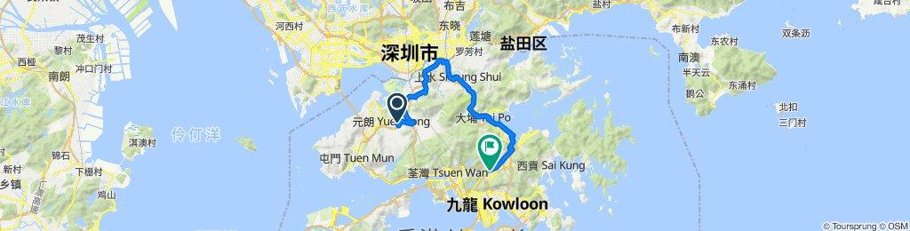 Yuen Long to Sha Tin