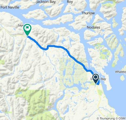 1010604 1of12 BC - 06d Campbell River, BC to Sayward, BC (Sayward Fisherboy RV Park Motel and Resort) 66km