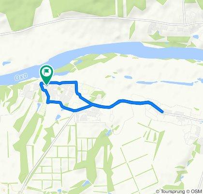 Расслабленный маршрут в Знаменское