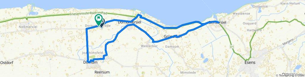 N02-Bensersiel-Dornum-27km