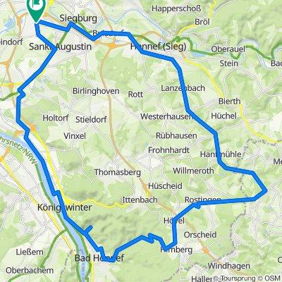 Sankt Augustin - Buchholz - Königswinter
