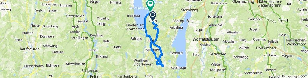 Schnelle Tour in Herrsching am Ammersee