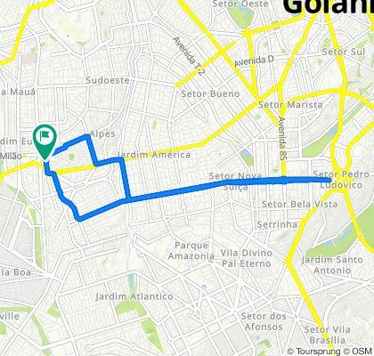Passeio rápido em Goiânia