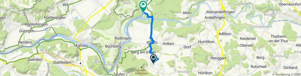 von Gräslikon nach Ellikon am Rhein