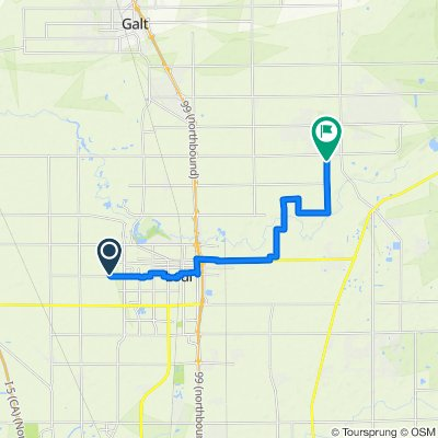 Route to Josh's House