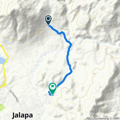 Ruta moderada en Jalapa