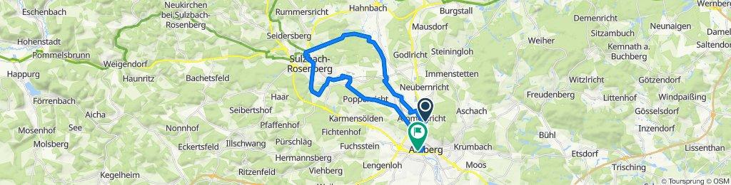 Gemütliche Route in Amberg