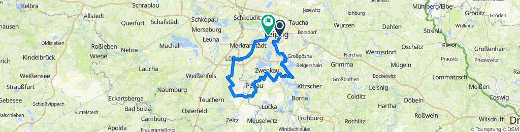 100 km Südwestliches Leipziger Neuseenland