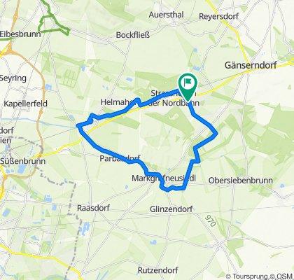 Strasshof - Marchfeld Kanal - Deutsch Wagram - Strasshof