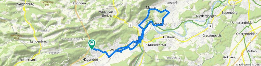 Langenbruckstrasse 10, Hägendorf nach Langenbruckstrasse 17, Hägendorf
