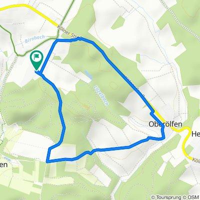 Gemütliche Route in Birnbach