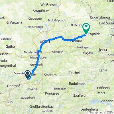 Oßmannstedt über Erfurt