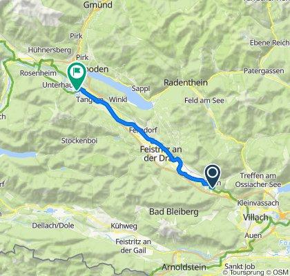 Gemütliche Route in Spittal an der Drau