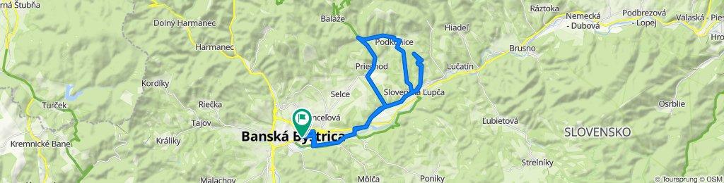 BB SALKOVA PRIECHOD PODKONICE SLOVENSKA LUPCA