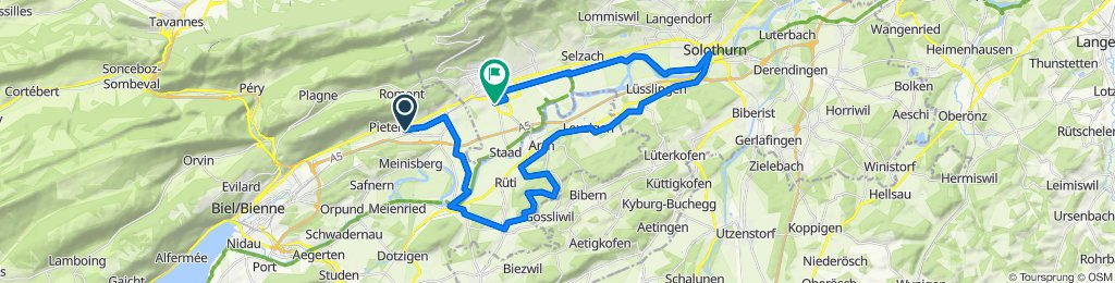 Pieterlen-Gossliwil-Leuzigen-Solothurn-Pieterlen
