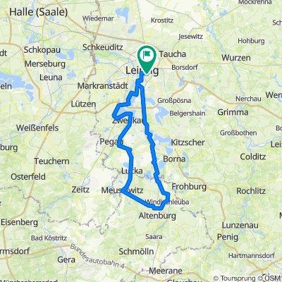 115 km Leipzig-Altenburg-Leipzig