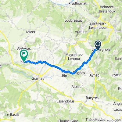 St-Jean Lagineste -> Rignac