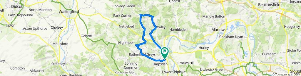 20 Niagara Road, Henley-on-Thames to 89 Harpsden Road, Henley-on-Thames