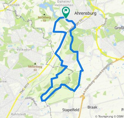 Einfache Fahrt in Ahrensburg