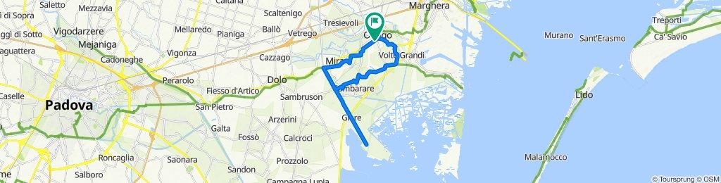 """In sella alla bici dalla Riviera del Brenta alla Valle """"Miana"""" Serraglia"""