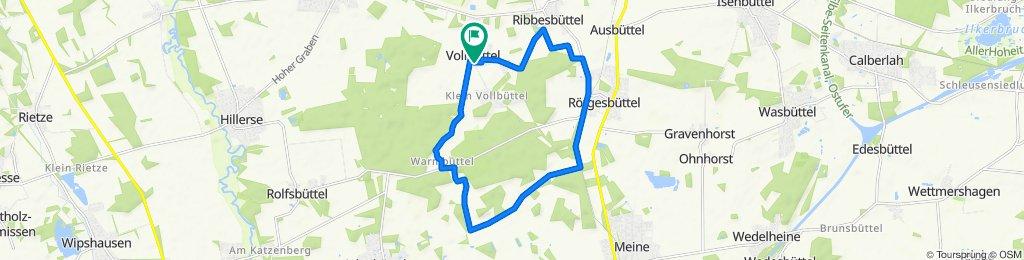 14,4km Rö-Alg-Wa-VB (Bahnschienen)