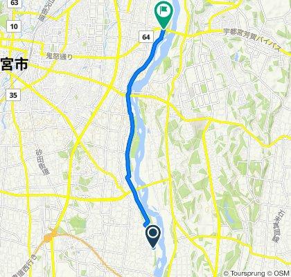 Supersonic route in Utsunomiya-Shi