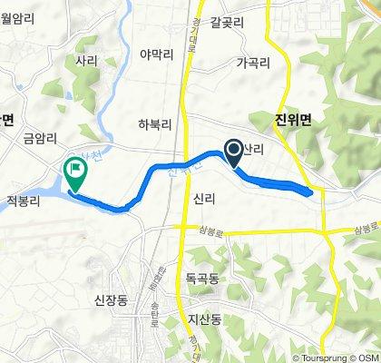 145-1 Sin-ri, Pyeongtaek-si to 620-83 Habuk-ri, Pyeongtaek-si