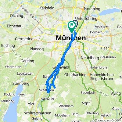 Münchner Isarhochufer-Tour