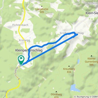 Gemütliche Route in Altmelon