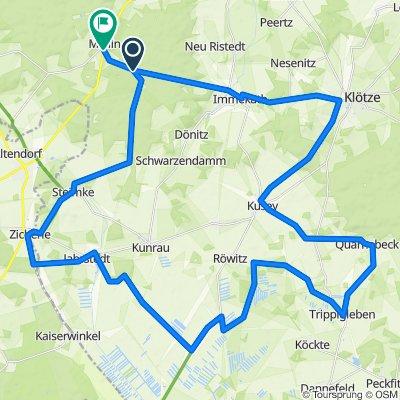 Rundtour Mellin - Drömling