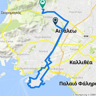 Krinis 31, Agia Varvara to Satovriandou 70, Chaidari