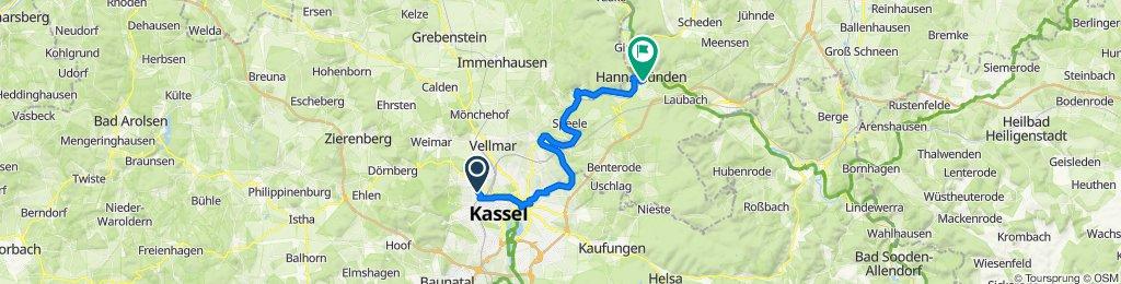 Kassel - Hann. Münden So, 26.04.2020