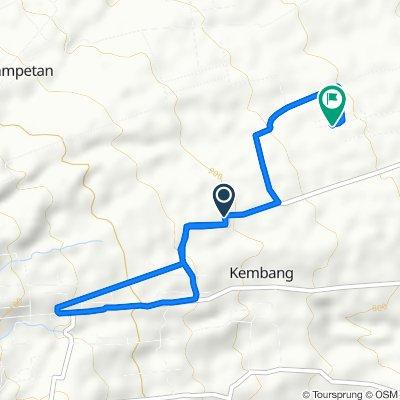 Ngemplak, Kecamatan Ampel to Unnamed Road, Kecamatan Ampel