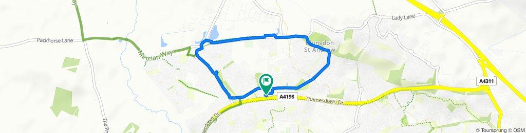 1–7 Dunley Close, Swindon to 10 Barcote Close, Swindon