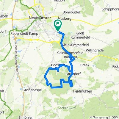 K6 52, Neumünster nach Heinrich-Wittorf-Straße 30B, Neumünster